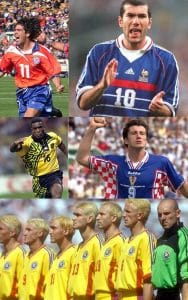 1998 world cup kits
