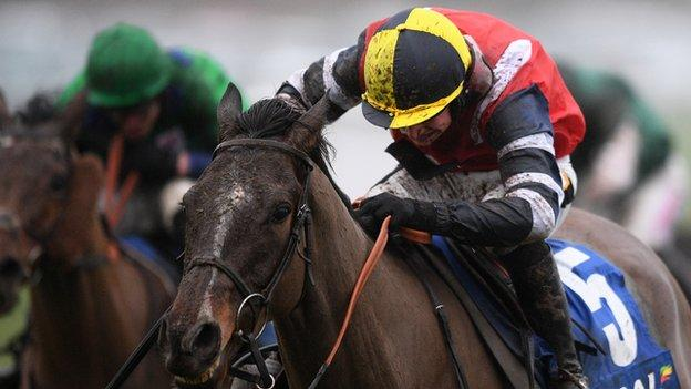 Potters corner wins the Welsh Grand National